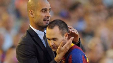 Pep: I learned from Iniesta