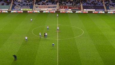Wigan's bizarre kick-off