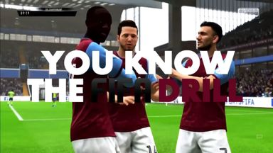 You Know The FIFA Drill | Aston Villa