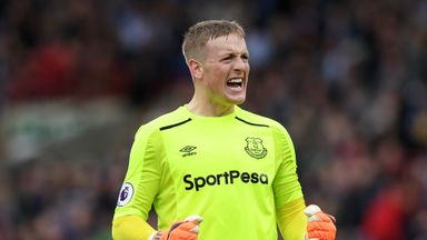 'Hard call between Pickford, Butland'