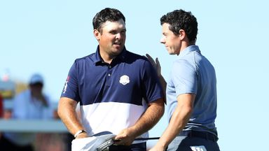 Ryder Cup moments: Rory v Reed