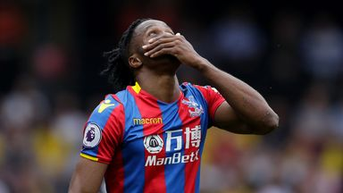Zaha asks for protection from referees
