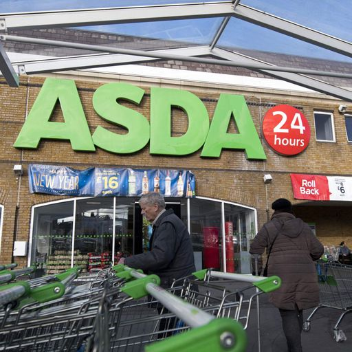 Online and clothing sales boost Asda trade