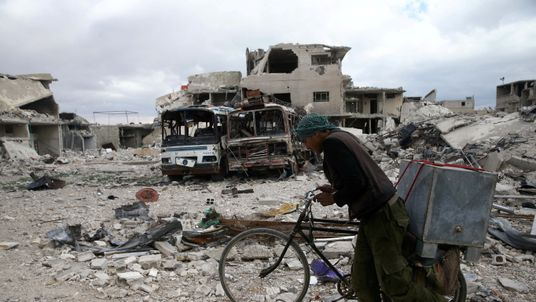 The Syrian regime has been accused of carrying out several chemical attacks in Douma