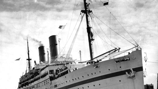 The Empire Windrush in 1954