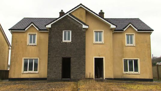 """Hundreds of so called """"ghost estates"""" still blight rural towns and villages"""