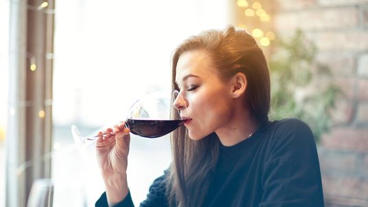 Women who drink alcohol are 45% more likely to suffer PMS symptoms than non-drinkers