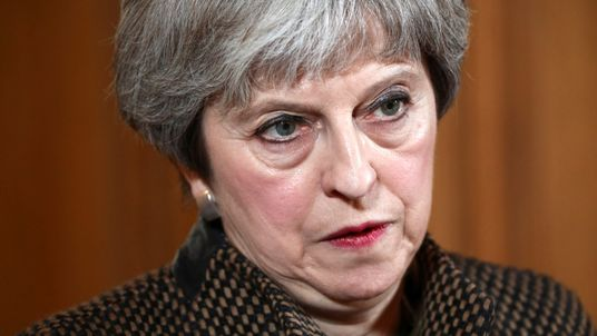 Mrs May said she acted in the national interest of the UK