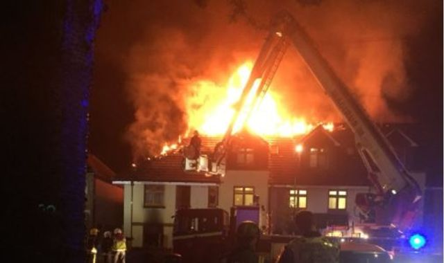 Chingford fire: woman dies in blaze at block of flats