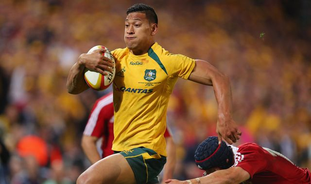 Israel Folau: Disgraced rugby star signs for Catalans Dragons