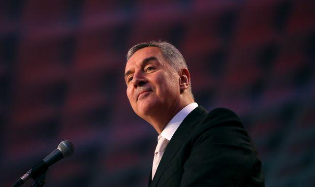 Montenegro: Djukanovic claims presidential victory