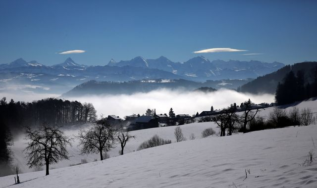 In the Swiss Alps killed four skiers, five more in critical condition