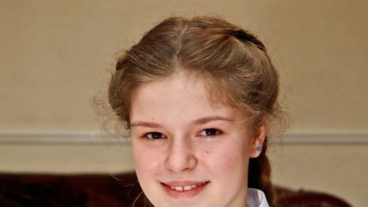 Amelia Thompson, 12, has received an invitation to the wedding