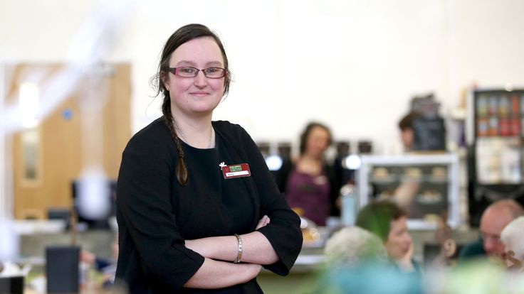 Amy Wright works to offer training opportunities for young adults with additional support needs