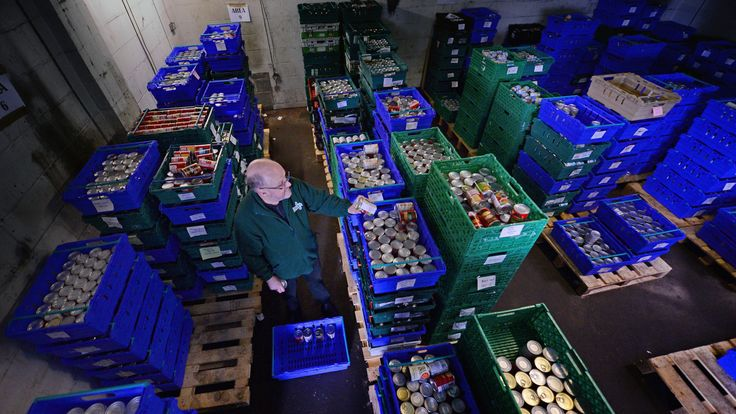 The Trussell Trust has seen a 52% increase in food bank usage in Universal Credit areas over the past year