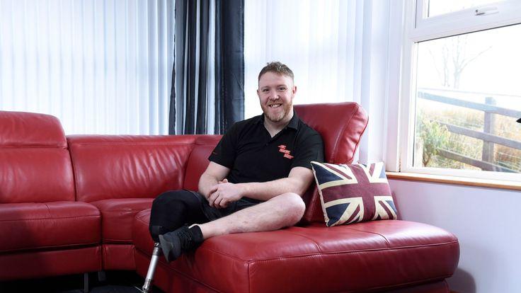 Former solider Phillip Gillespie said the invite was a 'massive privilege'