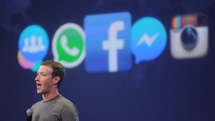 Facebook CEO Mark Zuckerberg speaks at the F8 summit in San Francisco, California, on March 25, 2015. Zuckerberg introduced a new messenger platform at the event