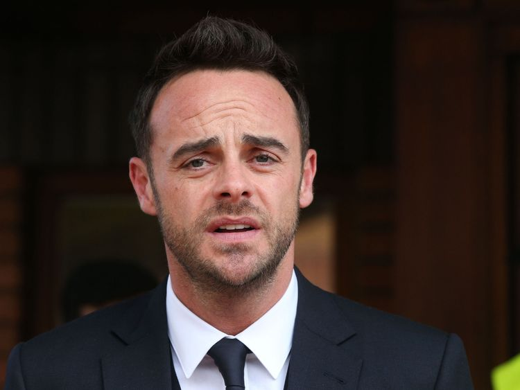 Ant McPartlin given driving ban and €86k fine