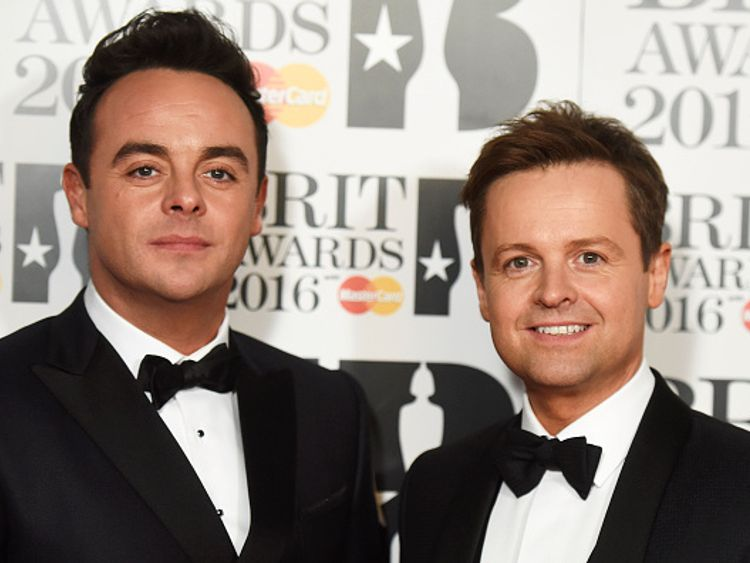 Ant McPartlin pulls out of this year's I'm a Celeb