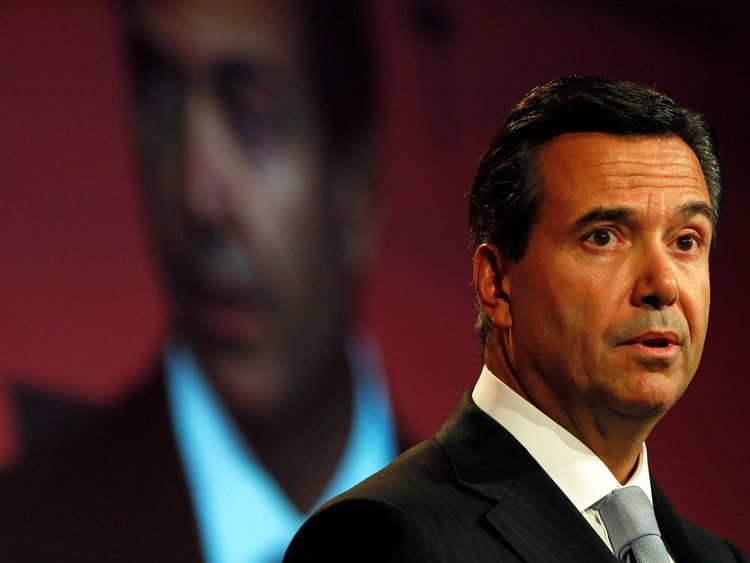 Antonio Horta-Osorio is the chief executive of Lloyds Banking Group