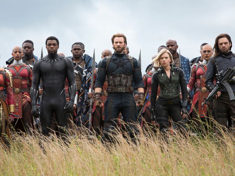 'Bedazzling' Avengers: Infinity War could break records