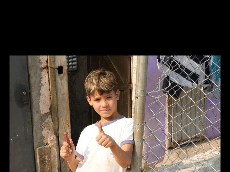 Boy in a favela