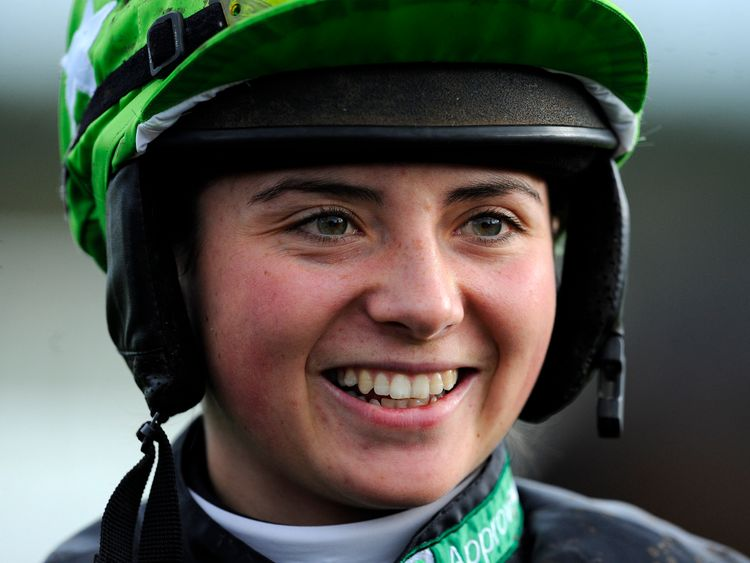Bryony Frost came fifth in the Grand National