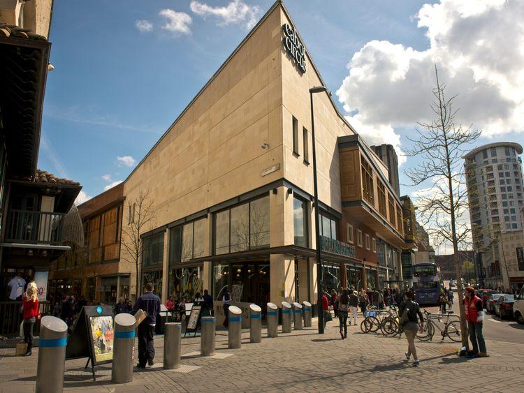 Cabot Circus shopping complex
