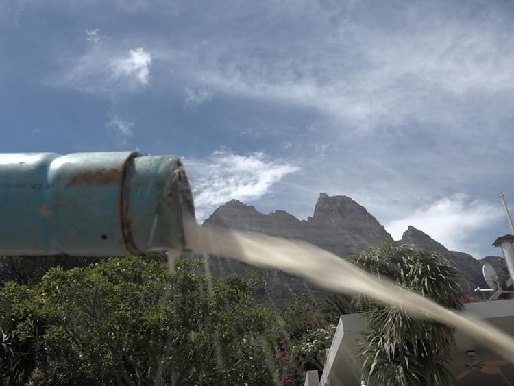 Cape Town residents have taken matters into their own hands to save water