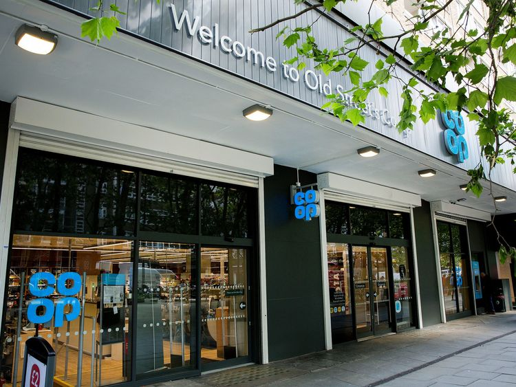 Co-op benefits after losing troubled banking arm