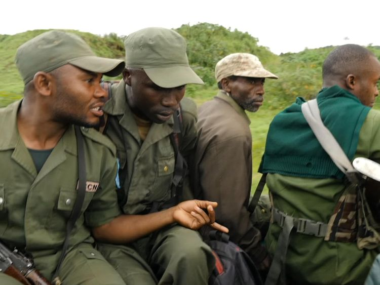 The rangers at Kahuzi-Biega park in Congo