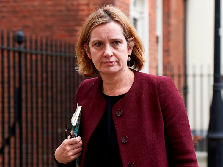 Amber Rudd will be speaking at the CyberUK conference in Manchester