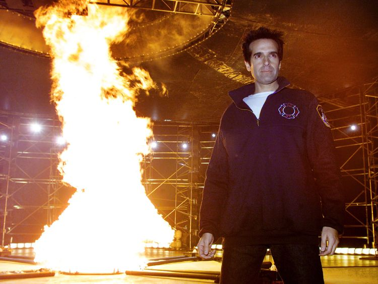 David Copperfield is one of the highest earning entertainers in the world