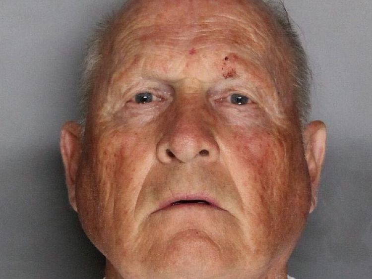 Joseph James DeAngelo. Pic: Sacramento County Sheriff