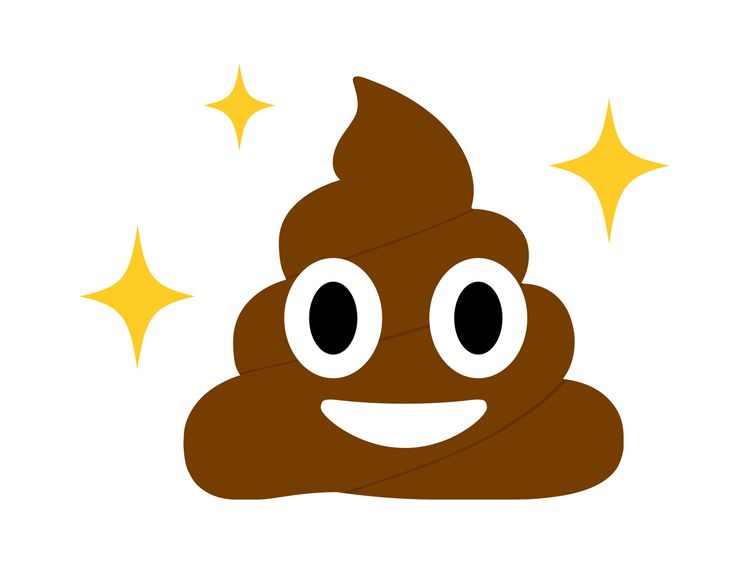 The grinning poop emoji is one of the most popular
