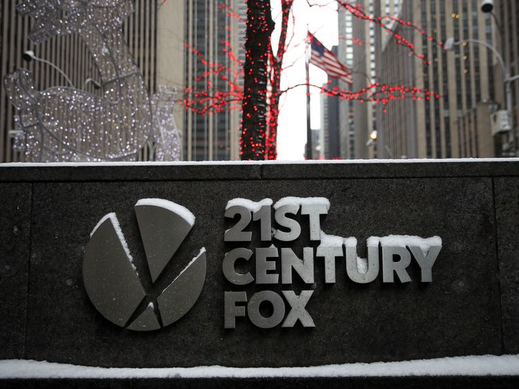 21st Century Fox files €24.5bn formal Sky offer