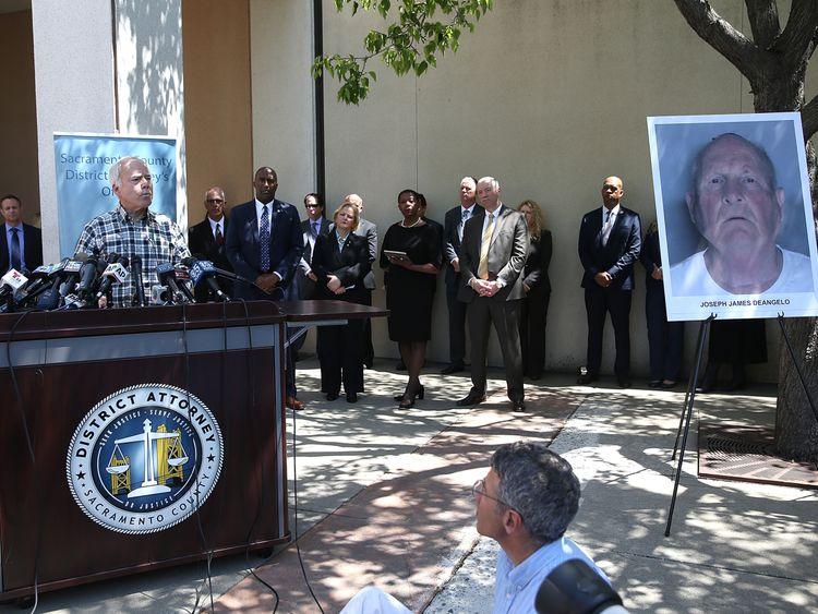 Joseph James DeAngelo was held in the Golden State Killer case