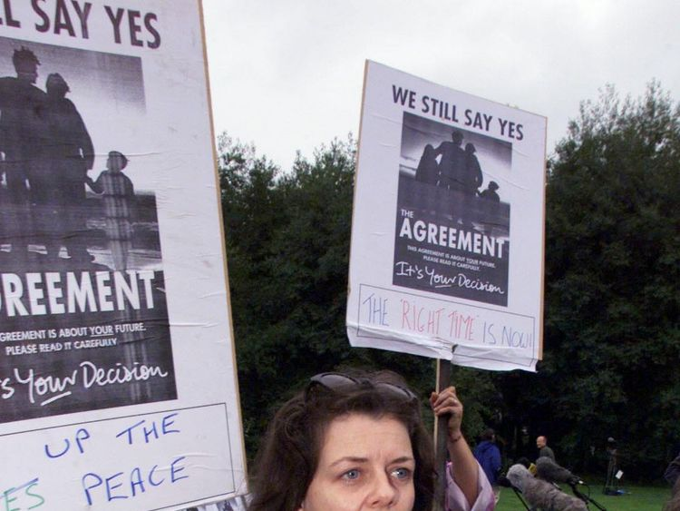 Belfast still divided after Good Friday Agreement