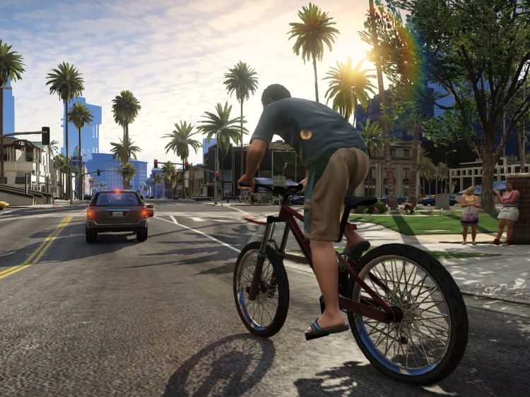 Grand Theft Auto V involves driving and shooting missions