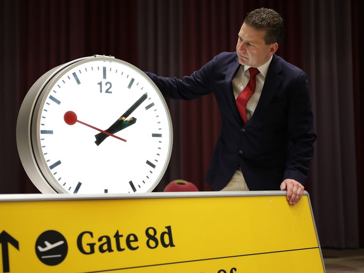 A spokesperson for the auctioneers said the airport clocks are proving the most popular so far