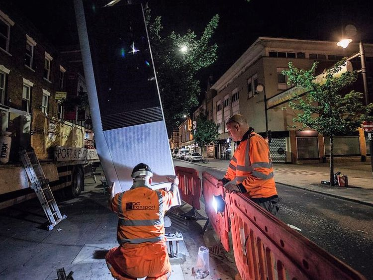 Some 135 InLinks have so far been installed in London and Leeds. Pic: InLinkUK