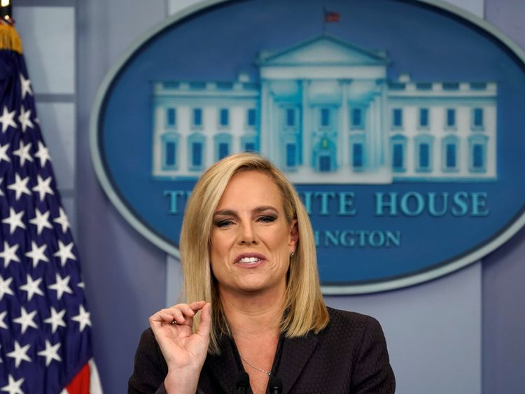 Kirstjen Nielsen said 'the time to act is now'