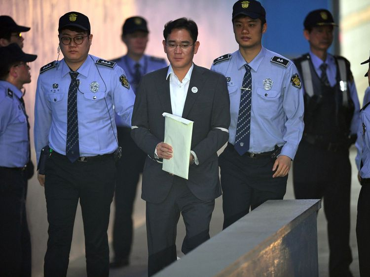 Samsung's de-facto leader, Lee Jae-yong, saw his five-year sentence overturned on appeal