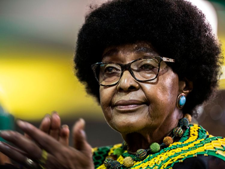 Winnie Mandela has died aged 81