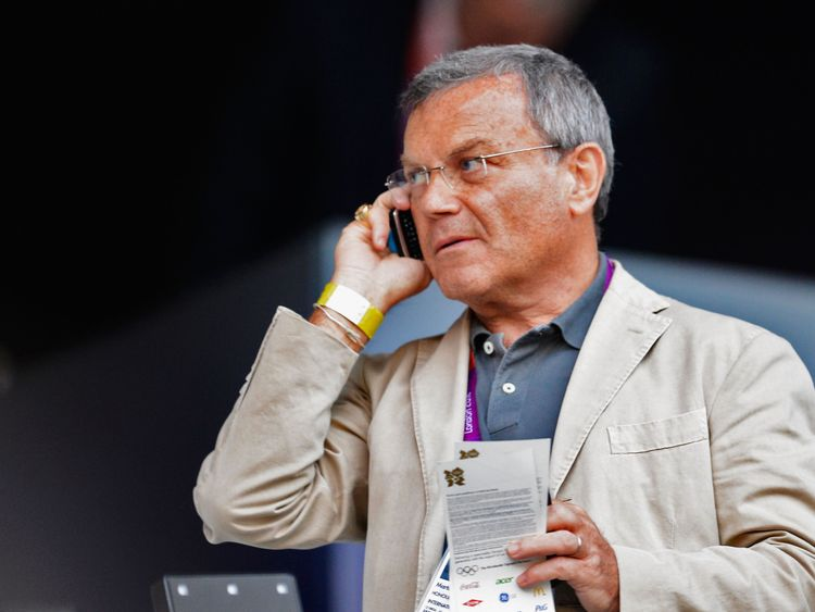 Sir Martin Sorrell, chief executive officer of WPP Group during the Opening Ceremony of the London 2012 Olympic Games at the Olympic Stadium on July 27, 2012 in London, England.