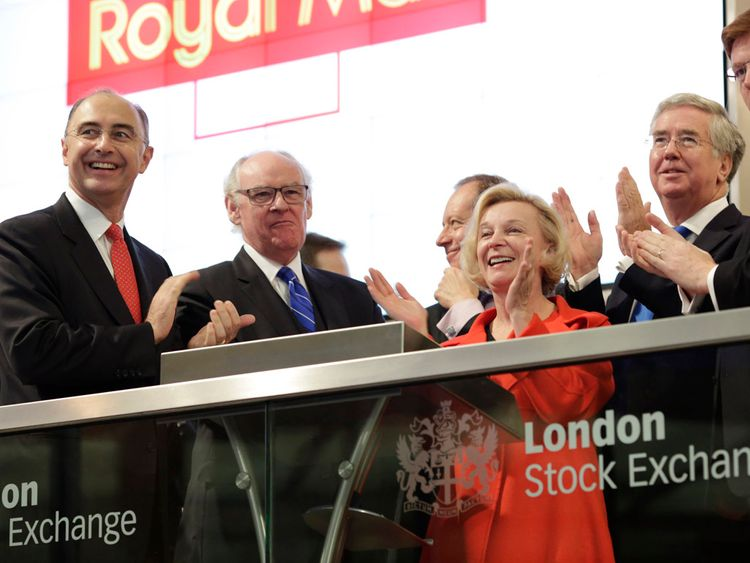 New Royal Mail chief handed €5.8m lump sum