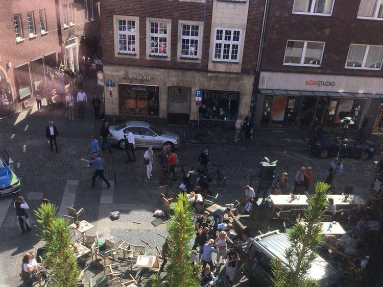 Scene of the incident in Munster. Credit: Pauli Feger
