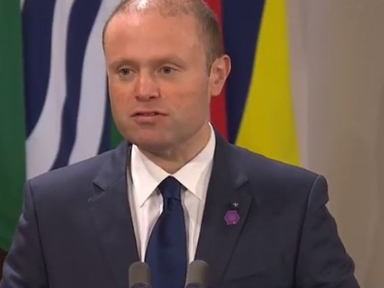 Malta PM Joseph Muscat praised Prince Charles for his service to the Commonwealth