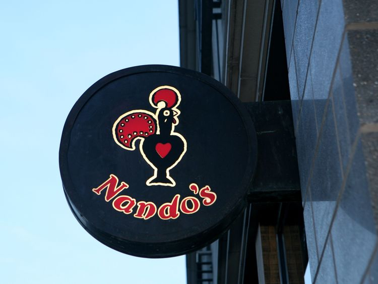 Prince William revealed he has a liking for the popular high street chicken branch Nando's