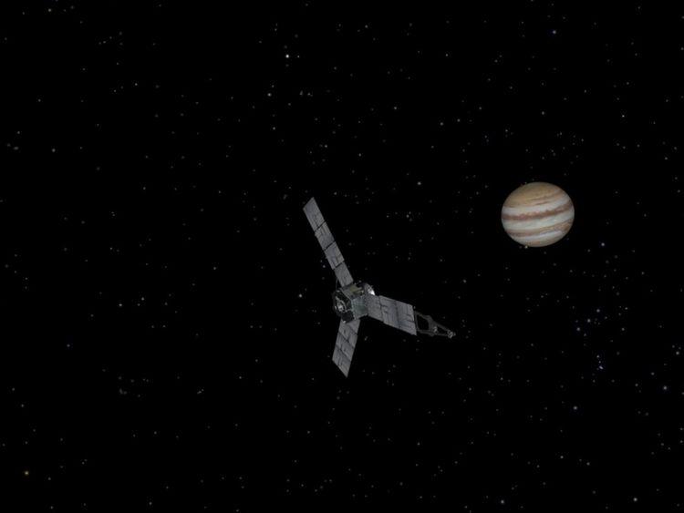 Juno entered Jupiter's orbit on 4 July 2016. Pic: NASA